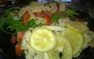 Hähnchenbrust mit Zitronenmarinade