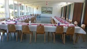 Hochzeitssaal deko