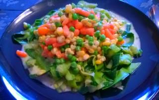 Pesto Zucchininudeln