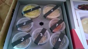 Aromaboxen mit Gewürzen