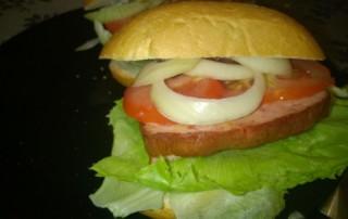 Fleischkäse Burger