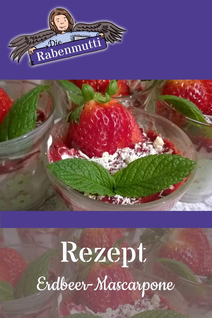 Erdbeer Mascarpone ohne Akohol