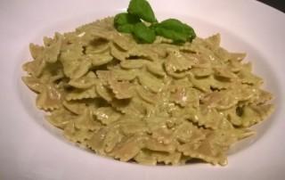 Pasta mit Pesto Mascarpone Sauce