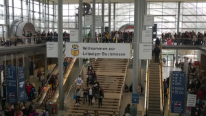 Messeaufgang Leipzig