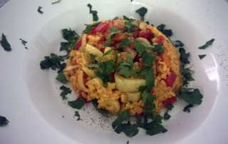 Vegetarische-Paella