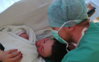 Stillen - Claires Geburt