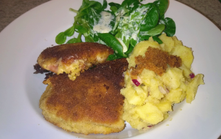 Cordon-Bleu-mit-Kartoffelsalat