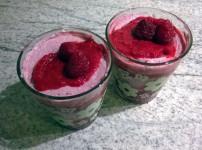 Himbeer-Mascarpone Dessert mit Kokosblütenzucker {Low Carb}