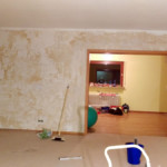 Erste Renovierungsschritte