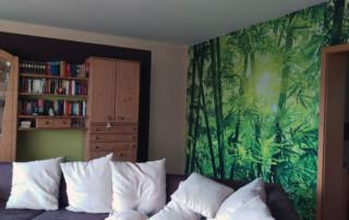 Bambustapete von posters.de