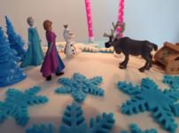 Meine erste Fondant-Torte im Elsa-Style - Anfängertauglich