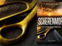 """""""Scherenmord"""" ist ein kurzweiliger, fesselnder Krimi von Ele Wolff !!"""