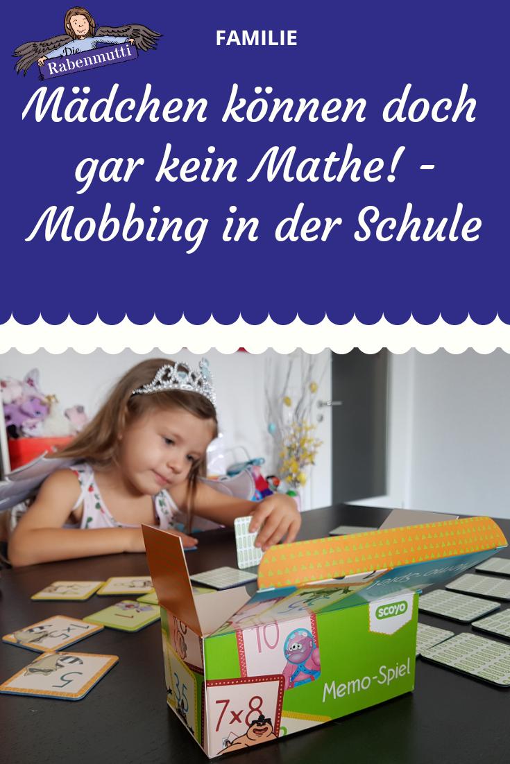 Mädchen können kein Mathe - Mobbing