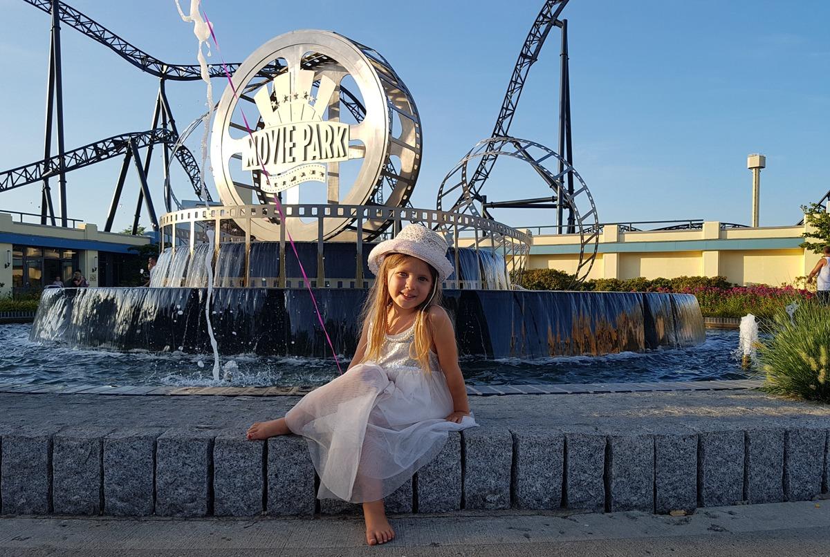 Claire verabschiedet sich aus dem Movie Park