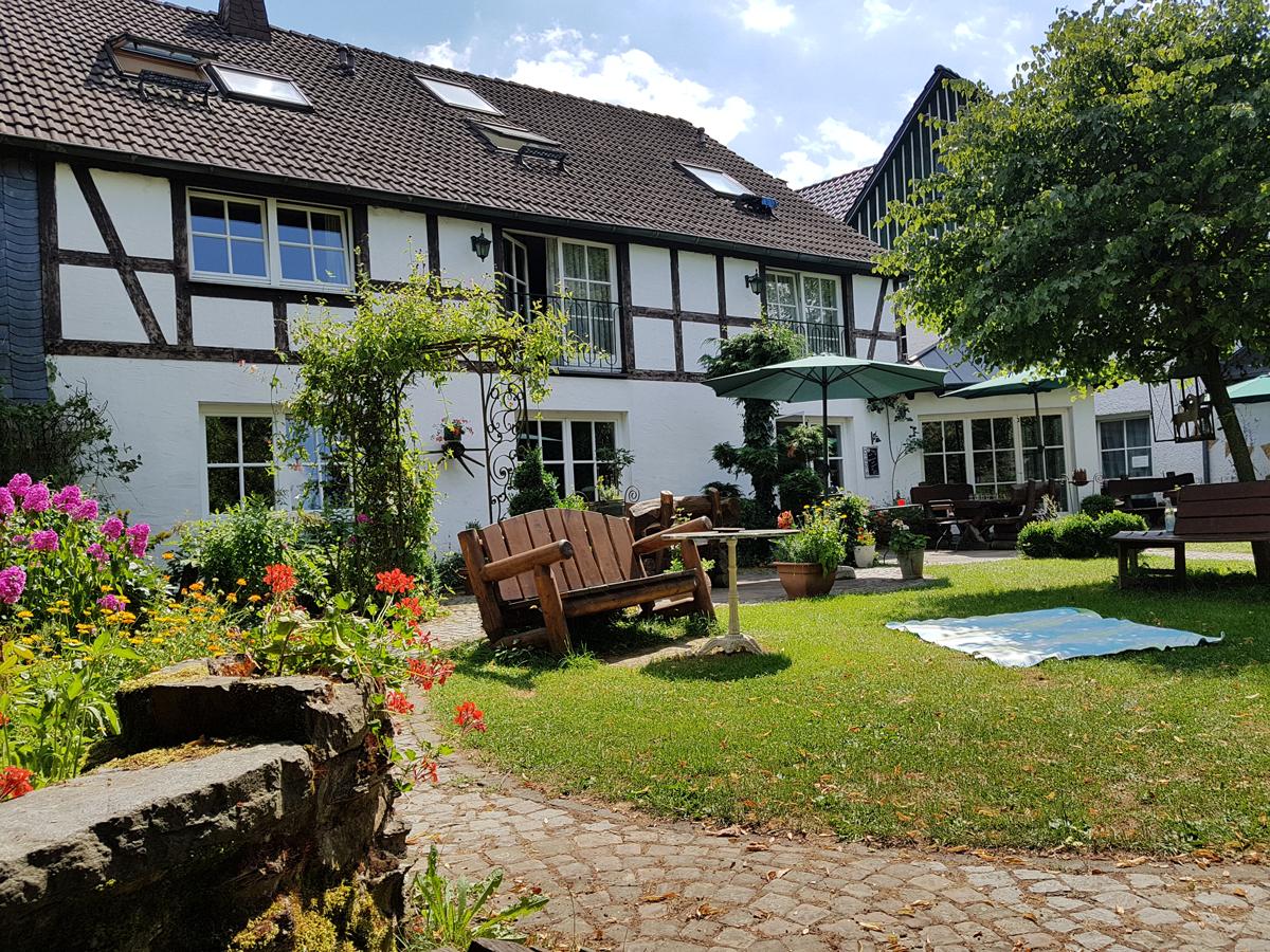 Garten auf dem Hubertus Hof