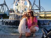 Familienausflug in den Movie Park mit Kleinkindern
