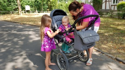 Mutter Kind Bindung hestellen mit Partnerlooks