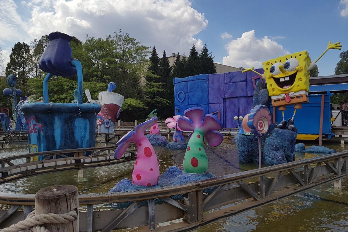 SpongeBob Bahn im Park