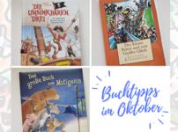 Buchtipps im Oktober: Wilde Abenteuergeschichten {Kinder}