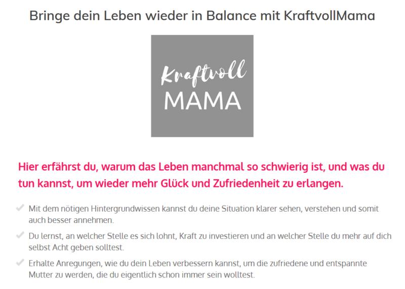 Kraftvoll Mama Screesnhot