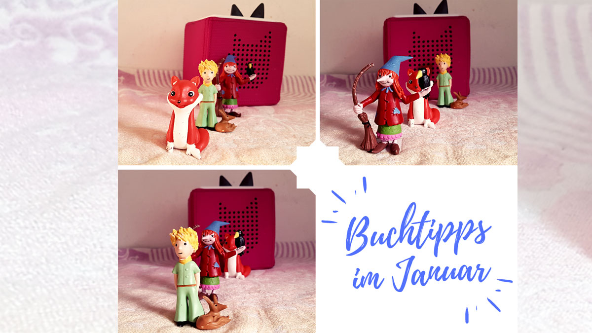 Buchtipps im Januar - Tonies Box