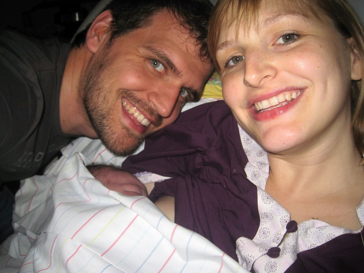 Eine wundervolle Geburt mit PDA