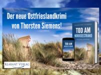 """Buchvorstellung """"Tod am Nordseestrand"""" von Thorsten Siemens"""