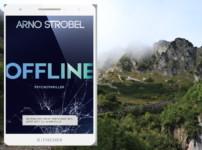"""Im Werk """"Offline"""" von Arno Strobel fühlt man sich nur durch die düstere Atmosphäre schon wahnsinnig bedroht !!"""