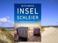 """Spannung auf ganzer Linie findet ihr im Ostfrieslandkrimi """"Inselschleier"""" von Rita Roth !!"""